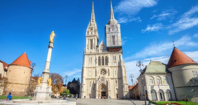 Fascinující záhřebská katedrála -