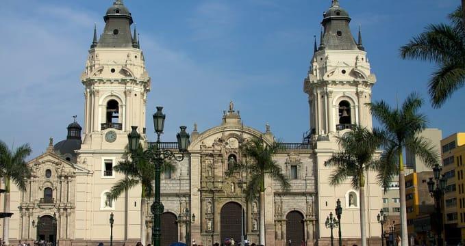 La Catedral de Lima - https://commons.wikimedia.org/wiki/File:Peru_-_Lima_085_-_La_Catedral_de_Lima_(6866531154).jpg