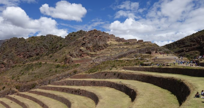 Ruiny v Pisacu -