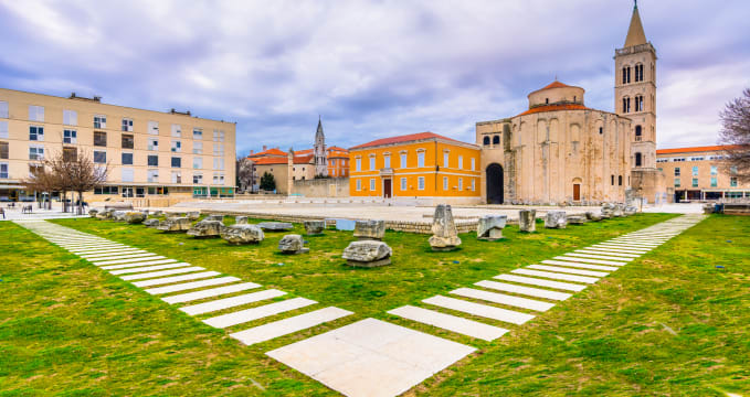Římské forum v Zadaru -