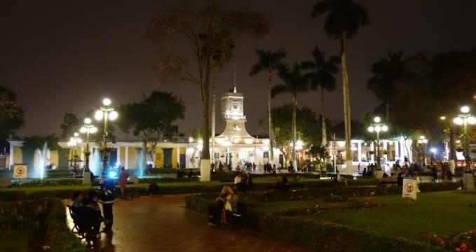 Knihovna ve čtvrti Barranco -