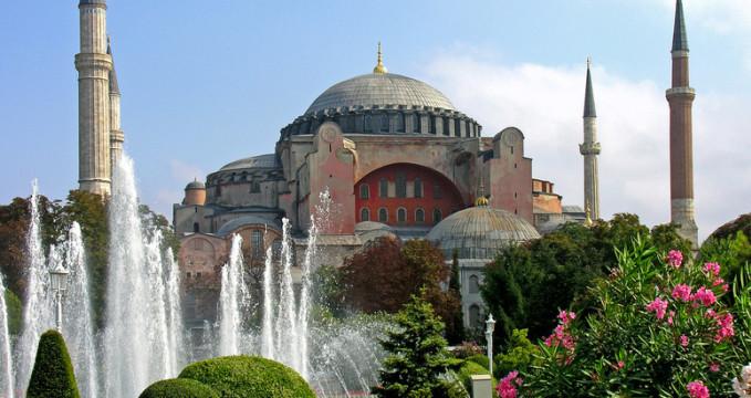 Hagia Sophia - https://www.flickr.com/photos/22490717@N02/2216460729/
