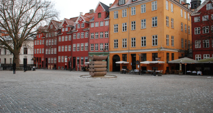 Náměstí Gråbrødretorv - https://www.flickr.com/photos/johan_haggi/5665437797