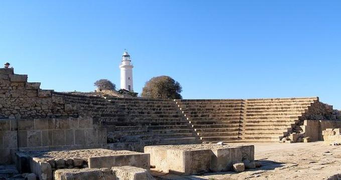 Paphos Acropolis - http://commons.wikimedia.org/wiki/File:PanoOdeonPaphos.jpg