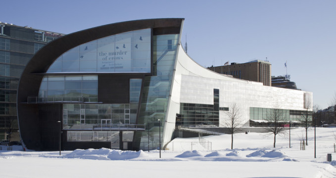 Muzeum současného umění Kiasma - https://www.flickr.com/photos/123734360@N08/14300453241/
