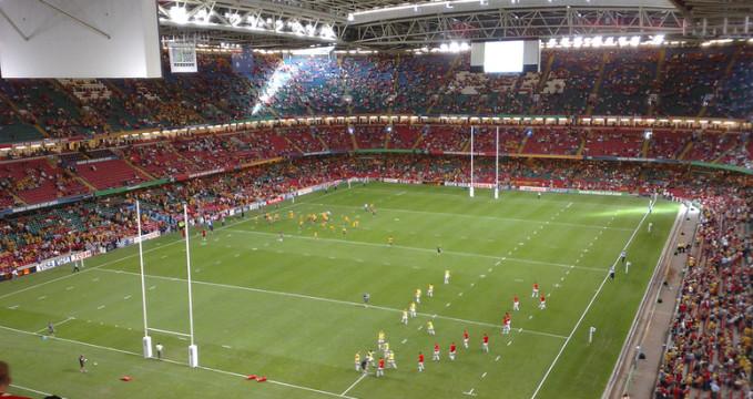 Millenium Stadium - https://www.flickr.com/photos/nedrichards/1393058215/