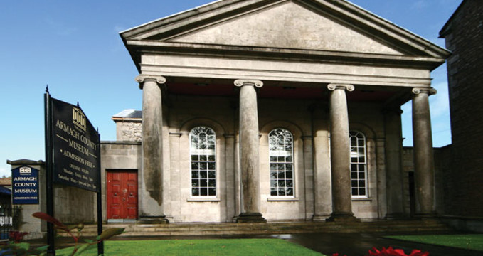 Armagh County museum  - http://www.armagh.co.uk/place/armagh-county-museum-2/