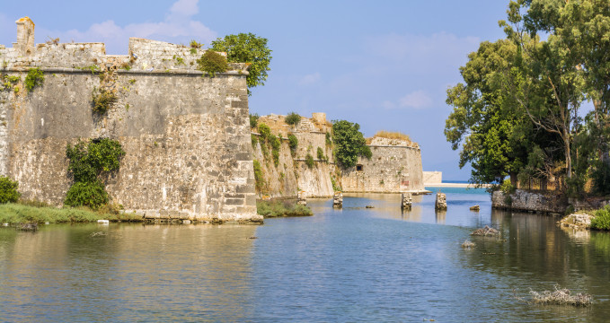 Pevnost Agia Mavra -