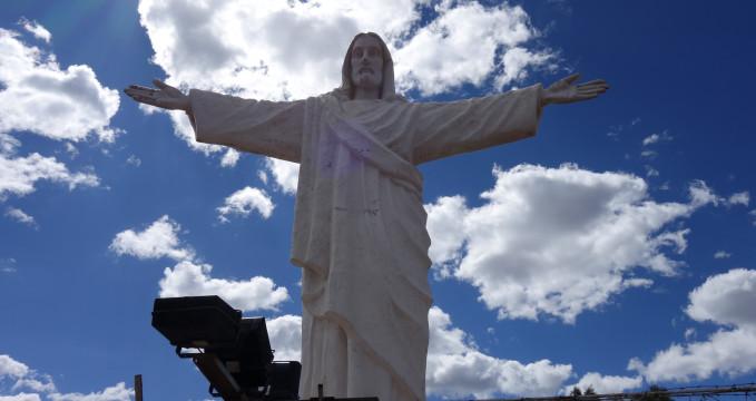 Bílá Socha Krista -