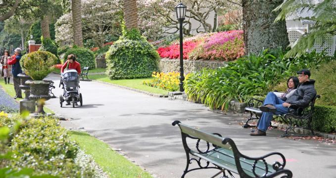 Botanická zahrada ve Wellingtonu - https://commons.wikimedia.org/wiki/File:15_SEP_12_WELLINGTON,_BOTANICAL_GARDENS.jpg