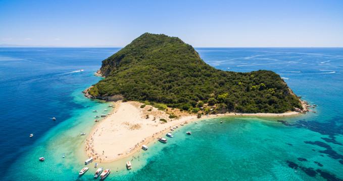 Ostrov Marathonisi -