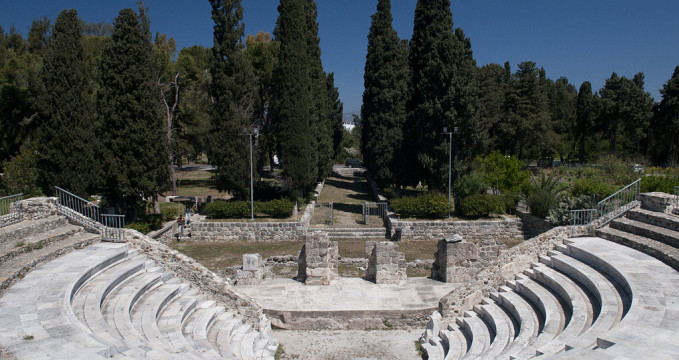 Římský Odeon  - https://commons.wikimedia.org/wiki/File:Odeon,_Kos_Town.jpg
