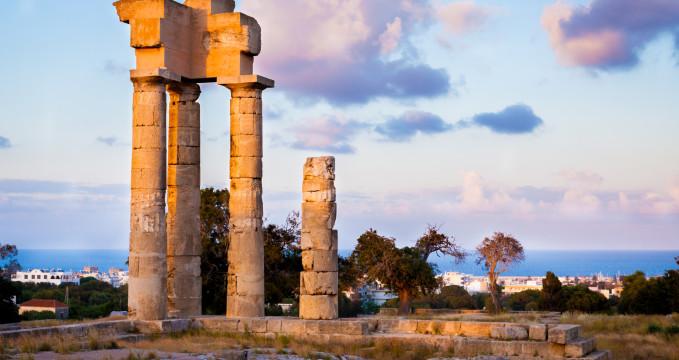 Akropole Rhodos -