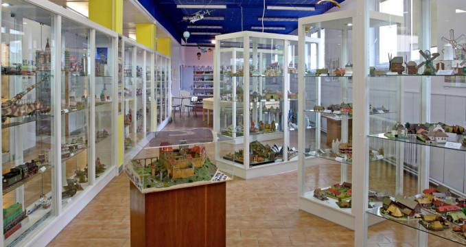 Muzeum papírových modelů - https://commons.wikimedia.org/wiki/File:Expozice_muzea.jpg