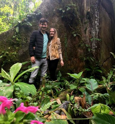 Výlet k posvátnému stromu na Honzovo pozemku