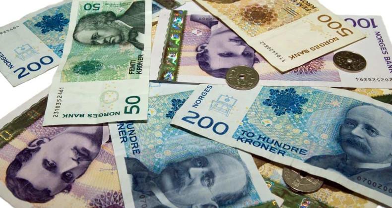 Bankovky a mince norské koruny