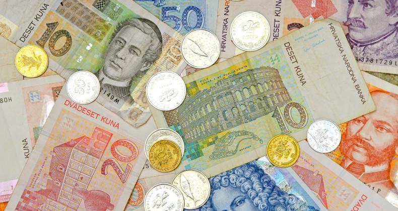 Chorvatské bankovky a mince kuna
