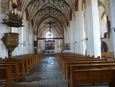 Kostel svaté Kateřiny uvnitř - https://commons.wikimedia.org/wiki/File:Gdansk-kosciolSwKatarzyny2009-wnetrze.jpg