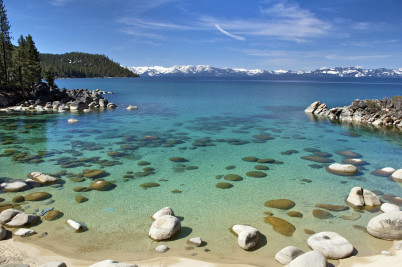 Secret Harbor Cove, East Shore, Lake Tahoe - https://www.flickr.com/photos/stevedunleavy/6964915030/