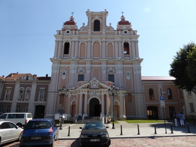 kostel sv. Kazimíra Vilnius - https://www.flickr.com/photos/mikelsantamaria/16340417247