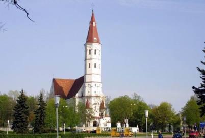 Kostel sv. Petra a Pavla - https://commons.wikimedia.org/wiki/File:Szawle_katedra.jpg