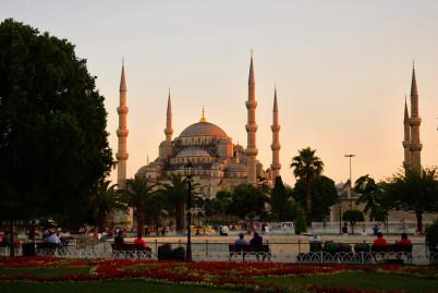 Mešita sultána Ahmeda - https://www.flickr.com/photos/62459482@N05/11779396186/