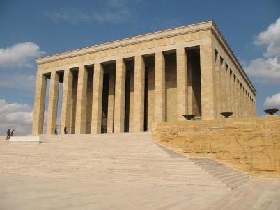 Mausoleum Mustafa Kemal - https://www.flickr.com/photos/25529311@N03/2895765558/