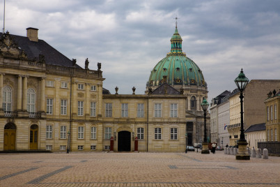Amalienborg Palace - https://www.flickr.com/photos/kwl/2789566743/