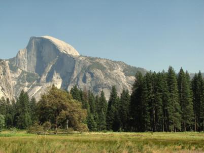 Half Dome - https://www.flickr.com/photos/dberry/6342819690