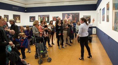 Dětská prohlídka v Národní galerii - http://www.nasjonalmuseet.no/no/utstillinger_og_aktiviteter/aktiviteter/barn_unge_og_familier/babyomvisninger/