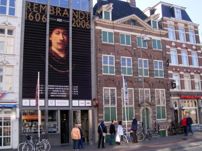 Rembrandt House - https://commons.wikimedia.org/wiki/File:Rembrandshuis.jpg