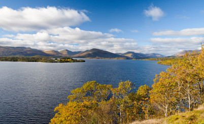 Jezero Loch Lomond - https://www.flickr.com/photos/99408200@N05/10687517986/