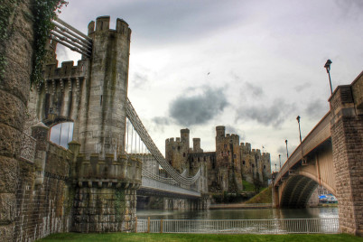 Hrad Conwy - https://www.flickr.com/photos/perki496/14302445062