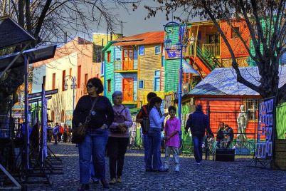 Caminito, La Boca, Buenos Aires, Argentina - http://en.wikipedia.org/wiki/File:Buenos_Aires_-_La_Boca_-_Caminito_-_200807i.jpg