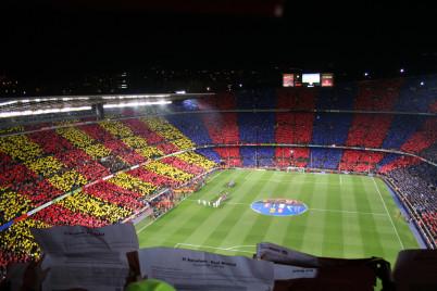 Camp Nou - https://www.flickr.com/photos/missha/2162118923