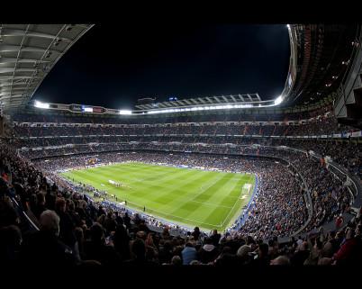 Santiago Bernabéu Stadium - https://www.flickr.com/photos/rromer/6781546175