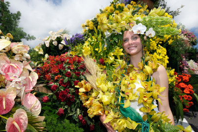 Festival květin  - https://www.flickr.com/photos/portobayevents/6715366725/