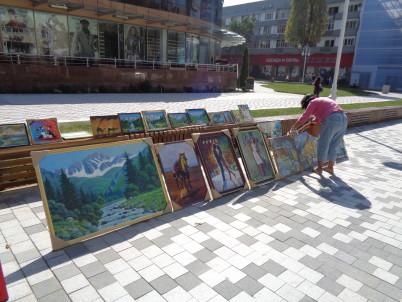 ulice Arbat, Almaty -