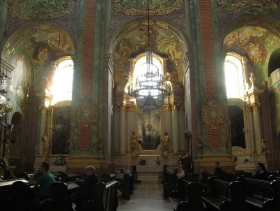 Katedrála - https://commons.wikimedia.org/wiki/File:Lublin_Archikatedra7.jpg?uselang=cs