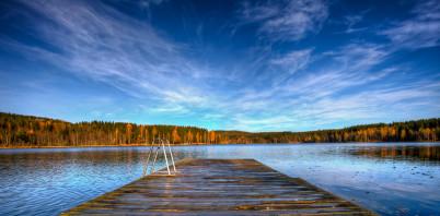 Jezero Sognsvann  - https://www.flickr.com/photos/oddne/5089591211/