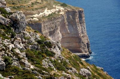 Dingli Cliffs na Maltě - https://www.flickr.com/photos/jamesstringer/14066742896/