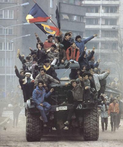 ilustrační foto, muzeum revoluce Temešvár - https://commons.wikimedia.org/wiki/File:Romanian_Revolution_1989_1.jpg