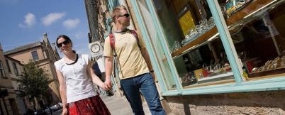 Bazarové obchůdky v Lancasteru - http://www.visitlancashire.com/explore/lancaster/shopping-in-lancaster