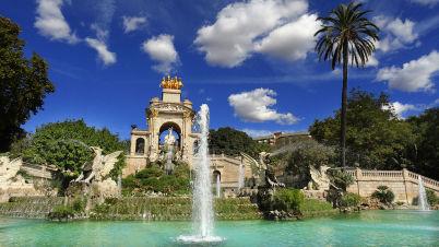 Fontána Cascada v Parc de la Ciudadela - https://commons.wikimedia.org/wiki/File:Cascada_del_Parque_de_la_Ciudadela,_Barcelona_DSC01898.jpg