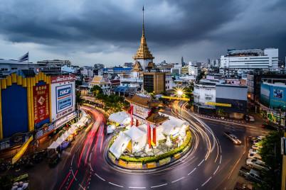 Gate do Chinatown v Yaowarat v Bangkoku - https://www.flickr.com/photos/mnuernberger/30663413175/