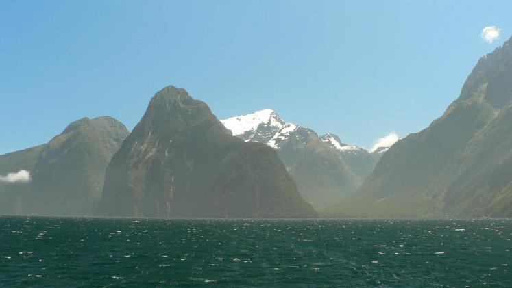 Novozélandské fjordy