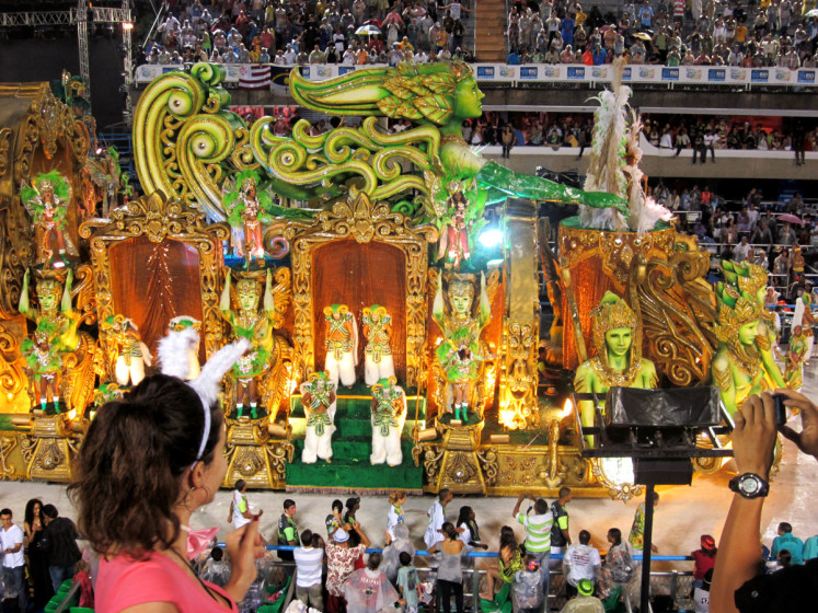 Sambodrom, Karneval Rio de Janeiro