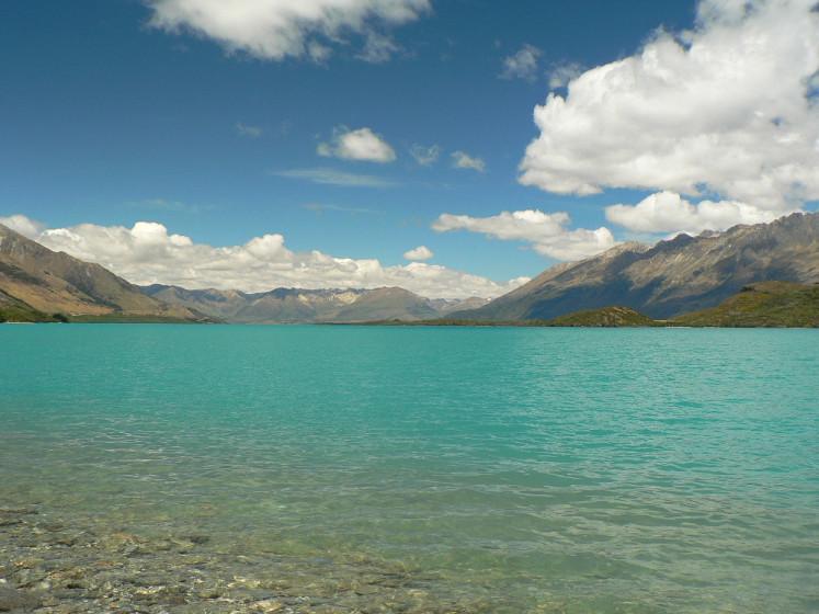 Severní ostrov na Novém Zélandu