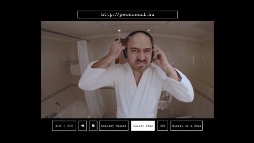 Pécsi Szál interaktív teaser