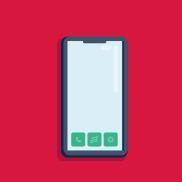 Illustrasjon ar mobil